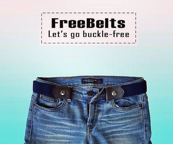 FreeBelt – Let's go buckle-free