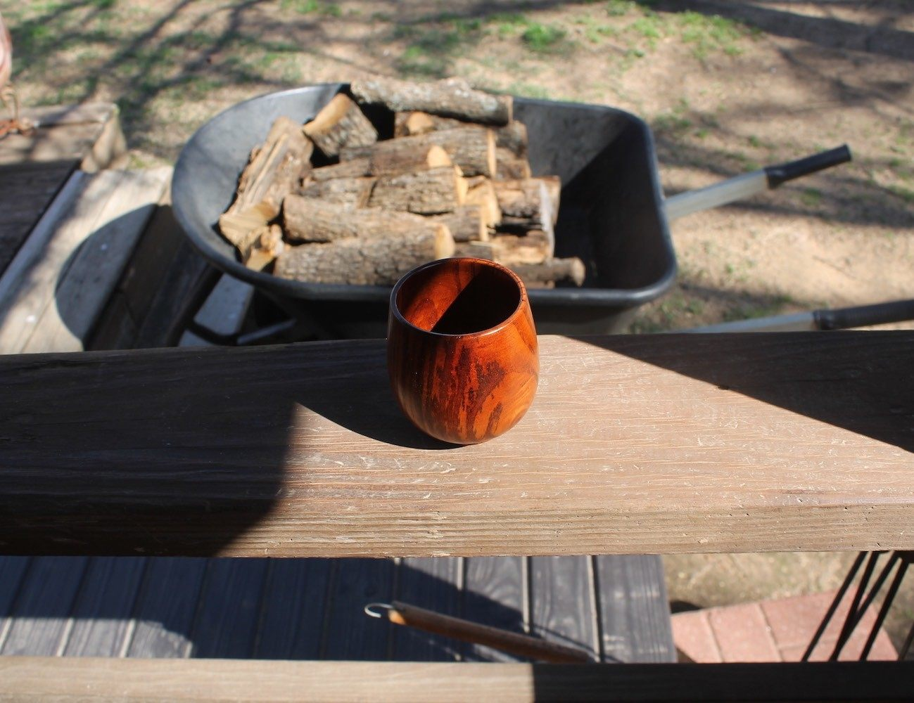 Handmade Natural Wooden Mug