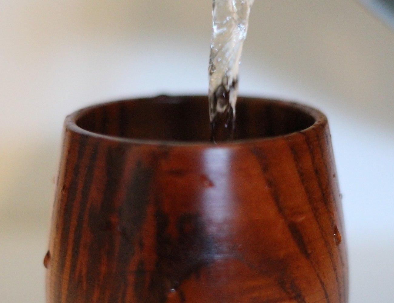 Handmade Natural Wooden Mug