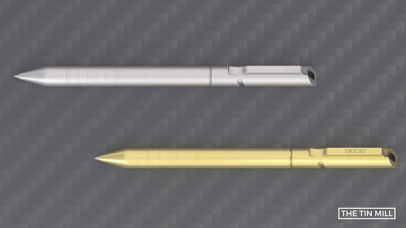 Helic – Precision Machined Helical Bolt Action Pen