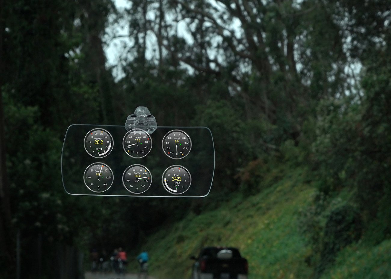 Hudly – Full Color Heads-Up Display for All Cars & Phone Apps