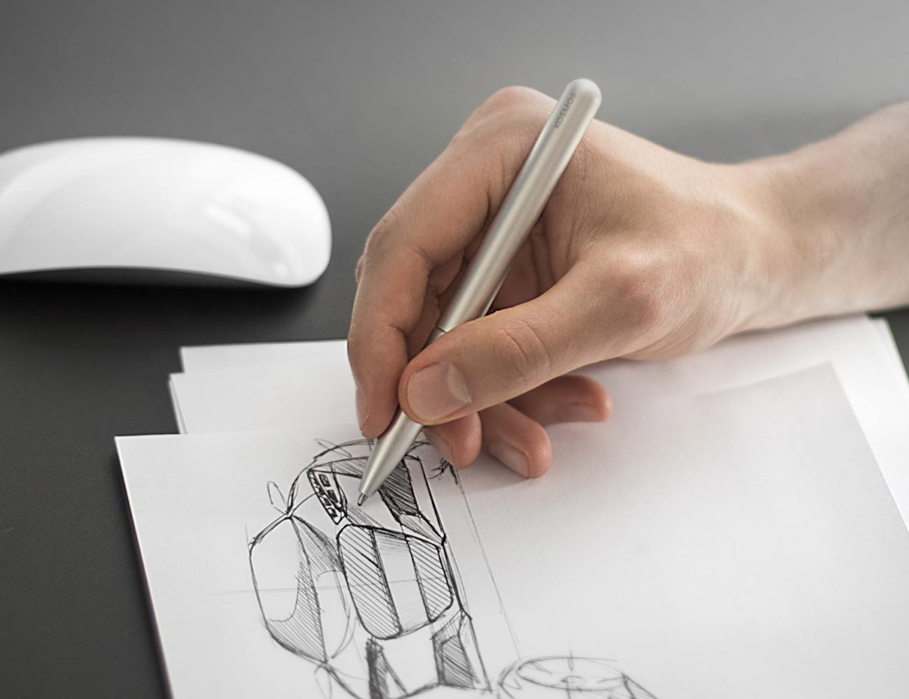 KOSMOS – An Award Winning Pen With The Most Intuitive Design