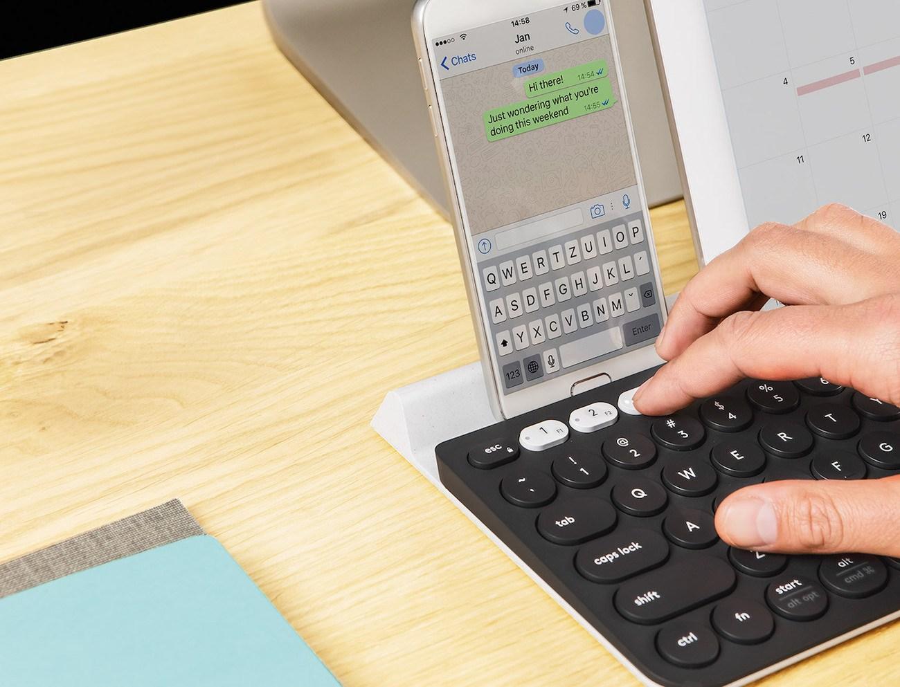 Logitech K780 Multi-Device Wireless Keyboard