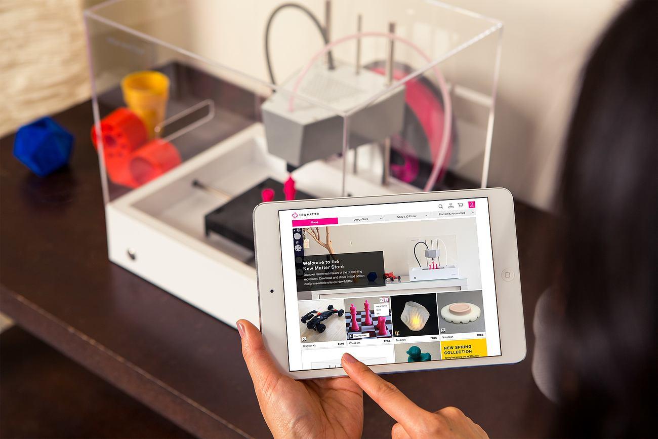 MOD-t 3D Printer by New Matter