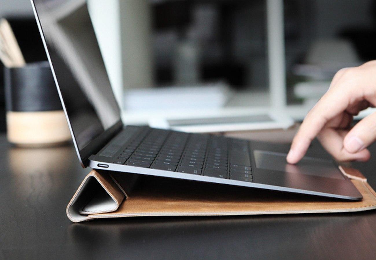 MacBook Sleeve Plus Stand