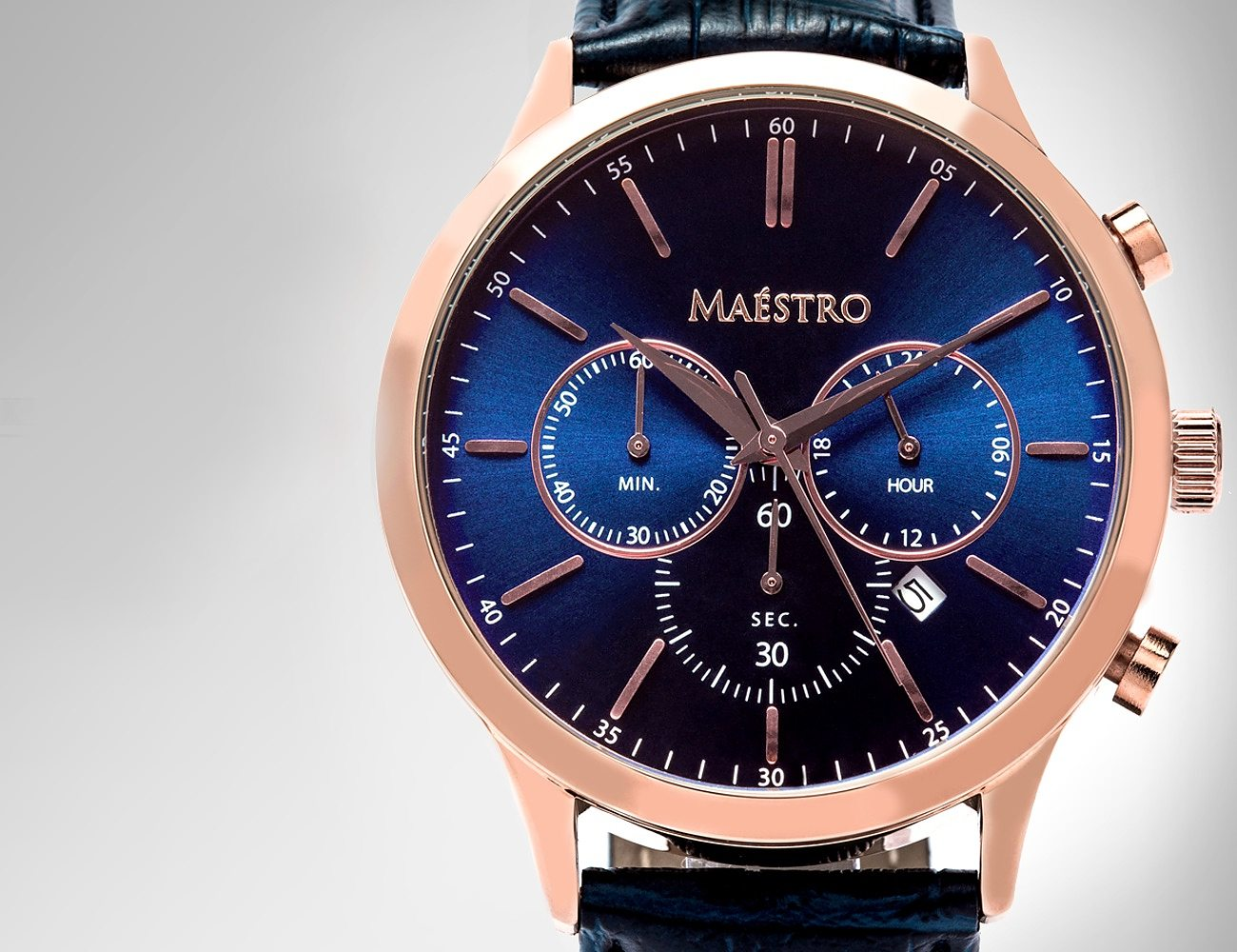 The Executive Chrono Watch 2.0 by Maéstro Watch Co.