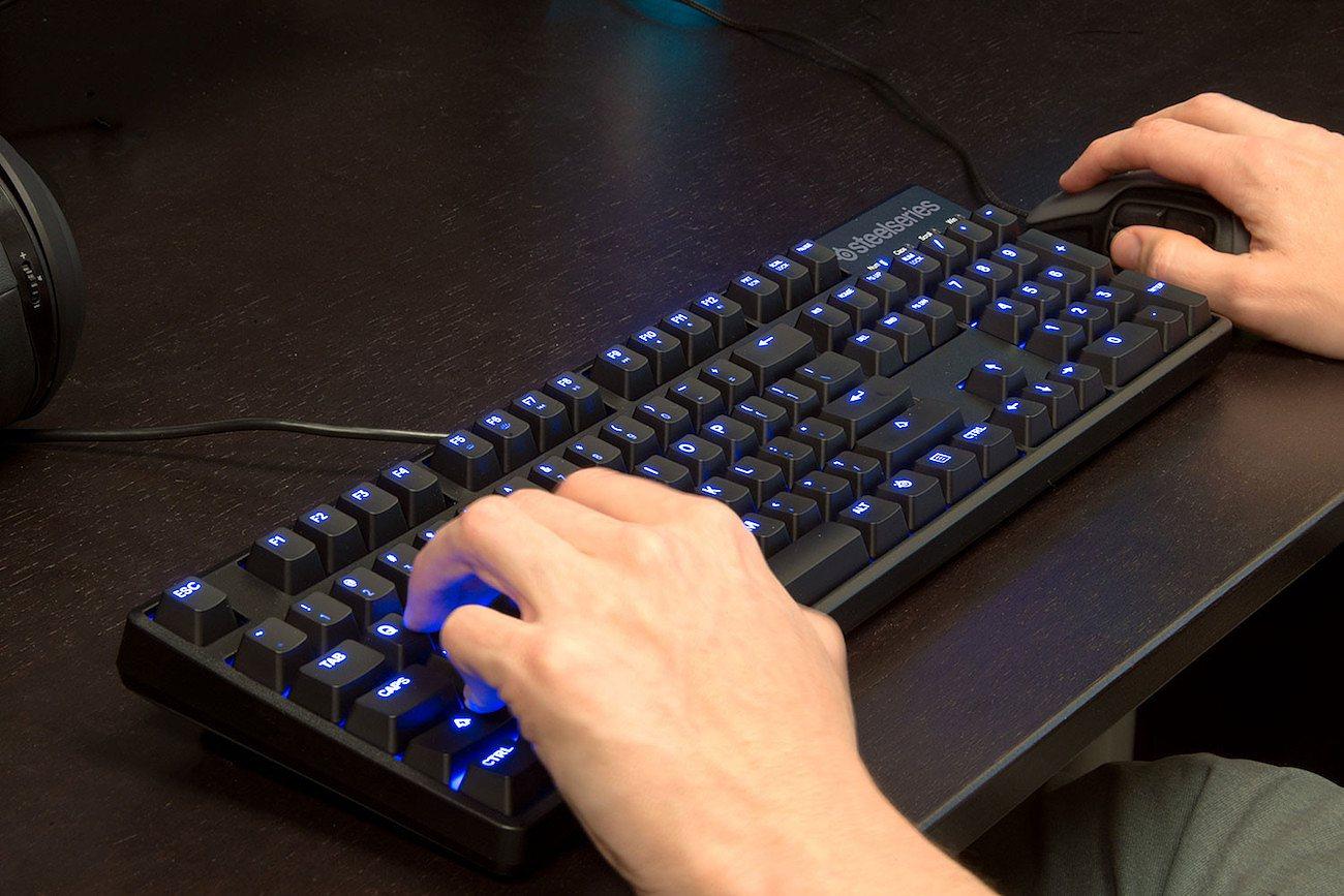 Mechanical Gaming Keyboard by SteelSeries