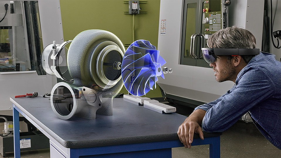 Microsoft HoloLens AR Helmet