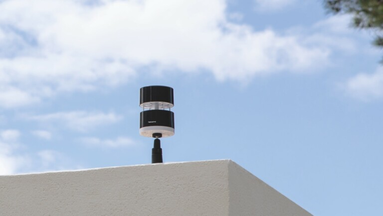 Netatmo Smart Anemometer measures real-time wind speed and sends high-wind alerts