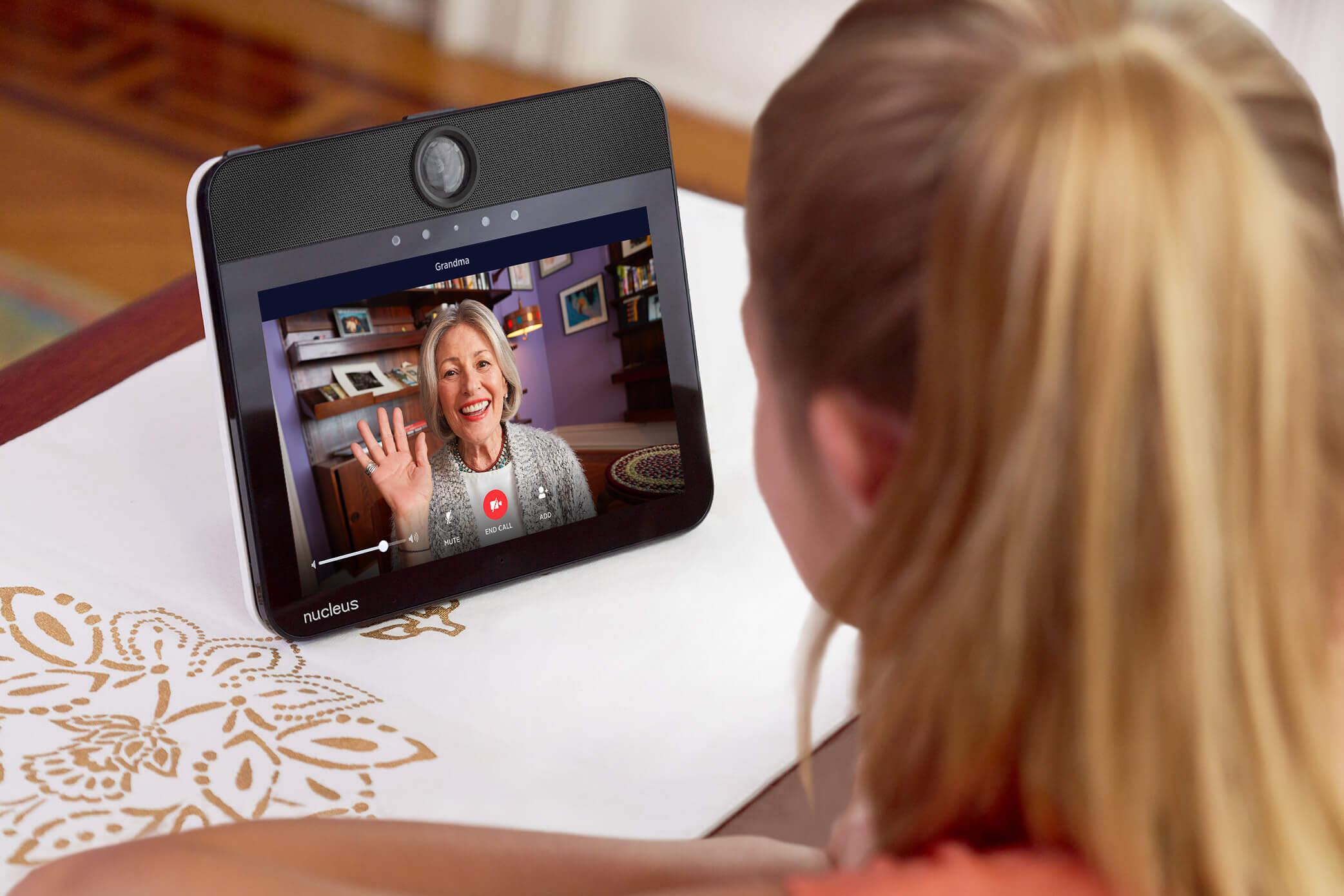 Nucleus – Touchscreen Tablet Intercom for Alexa
