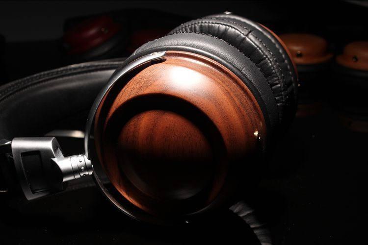 On-Ear Wooden Headphones