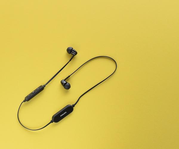 philips wireless bluetooth headphones gadget flow. Black Bedroom Furniture Sets. Home Design Ideas