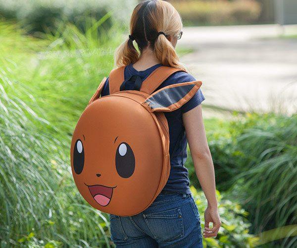 Pok%C3%A9mon+Eevee+3D+Molded+Backpack