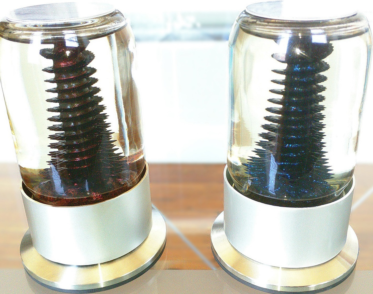 RIZE – Spinning Ferrofluid Display