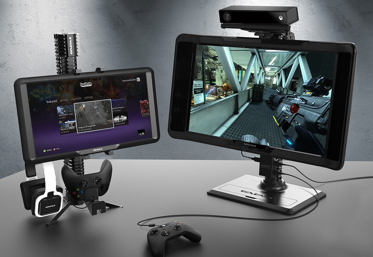 Rail System Satellite Monitor Stand by GAEMS