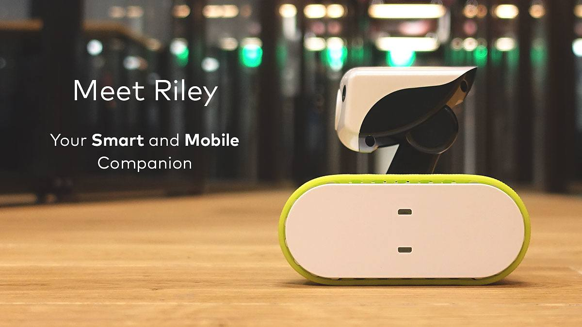 Riley Wi-Fi Home Monitoring Robot