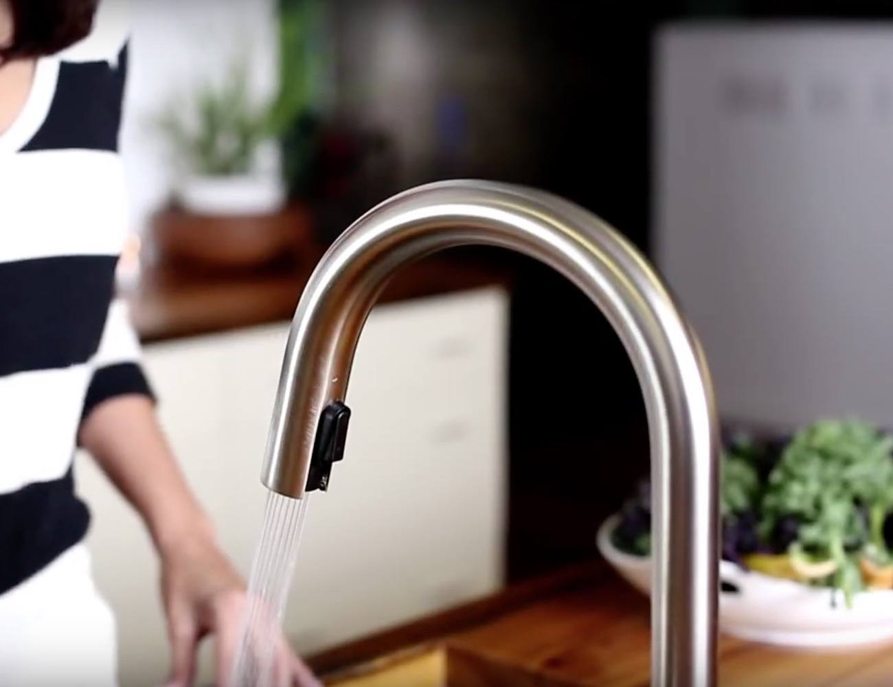 Solna SmartTouch Faucet by Brizo