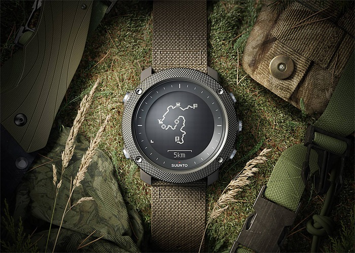 Suunto Traverse Alpha Watch With Outdoor Features