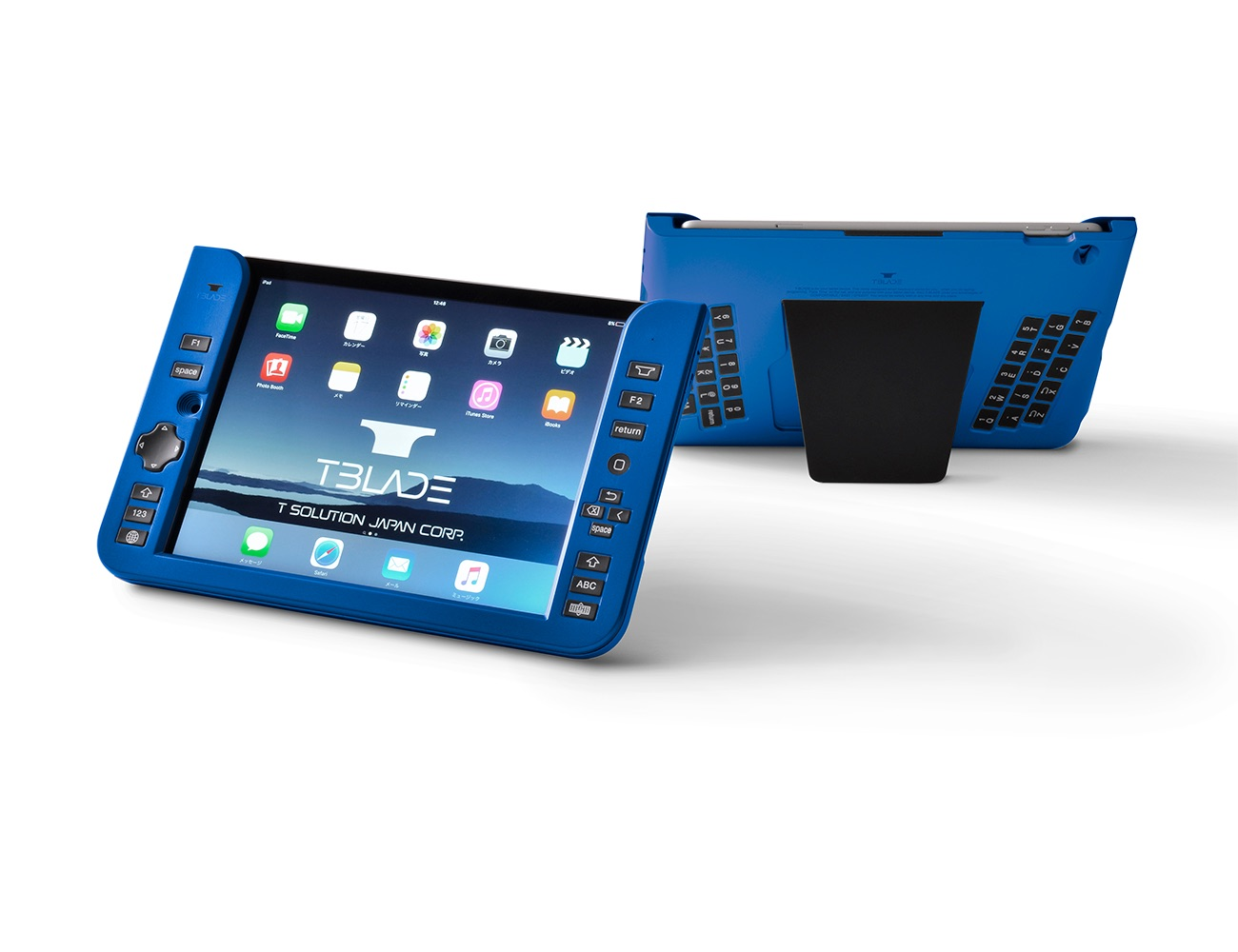 T-BLADE – World's 1st Back-typing Keyboard for iPad