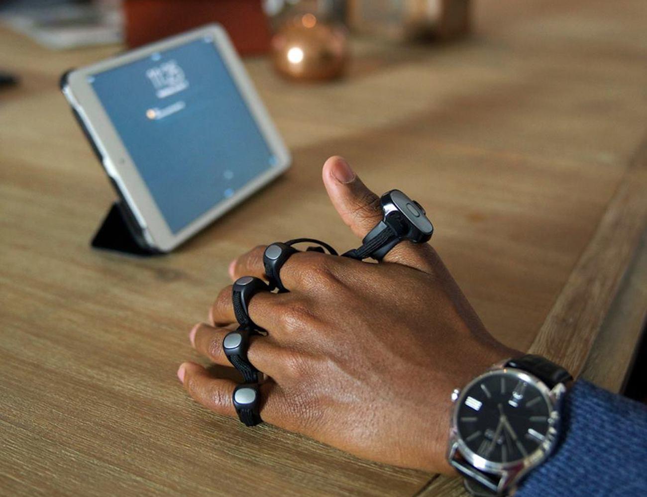 Tap Strap Wearable Keyboard
