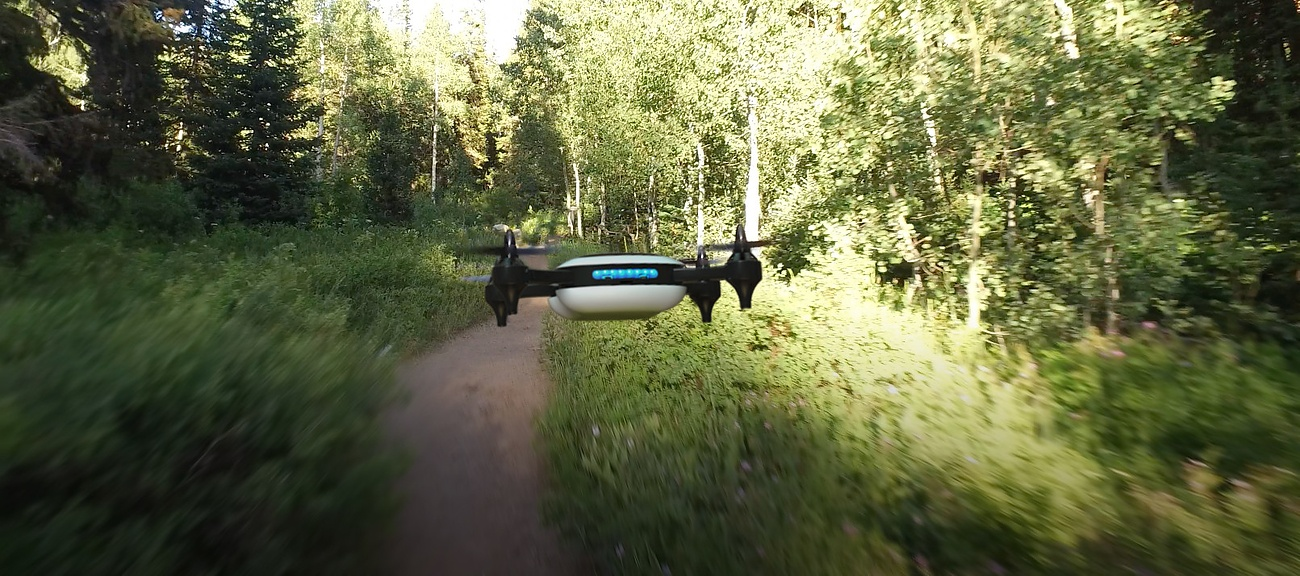 Teal High-Speed Drone