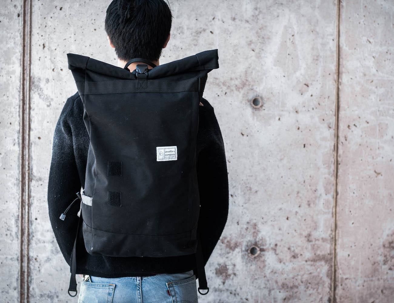 The Commuter Unroll - The Best Modular Weatherproof Backpack ...