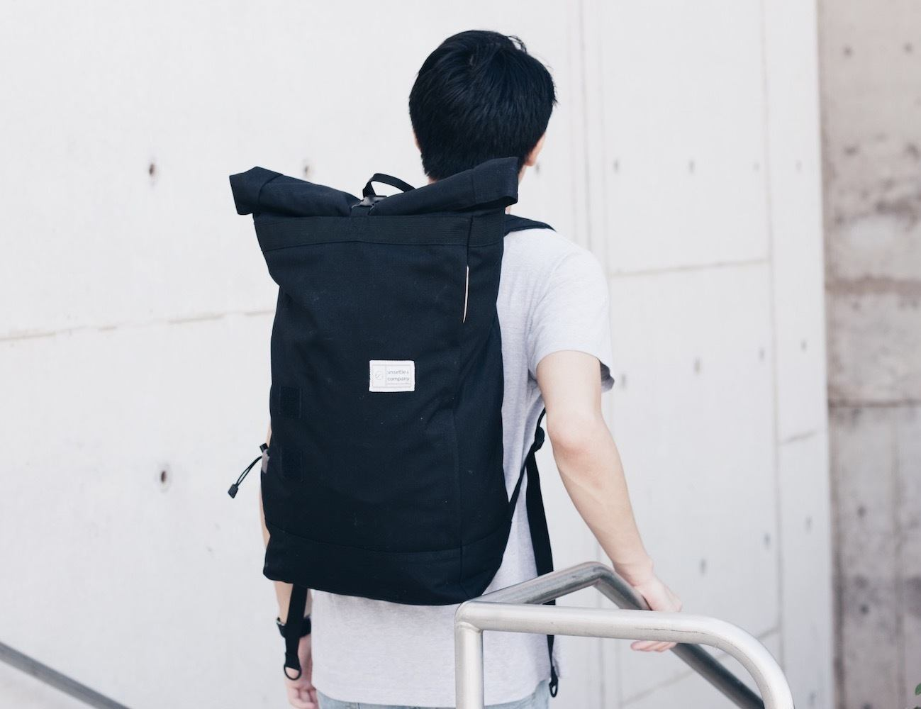 The Commuter+Unroll – The Best Modular Weatherproof Backpack