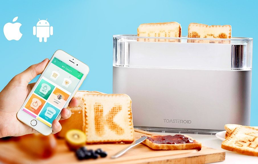 Toasteroid App-Controlled Toaster