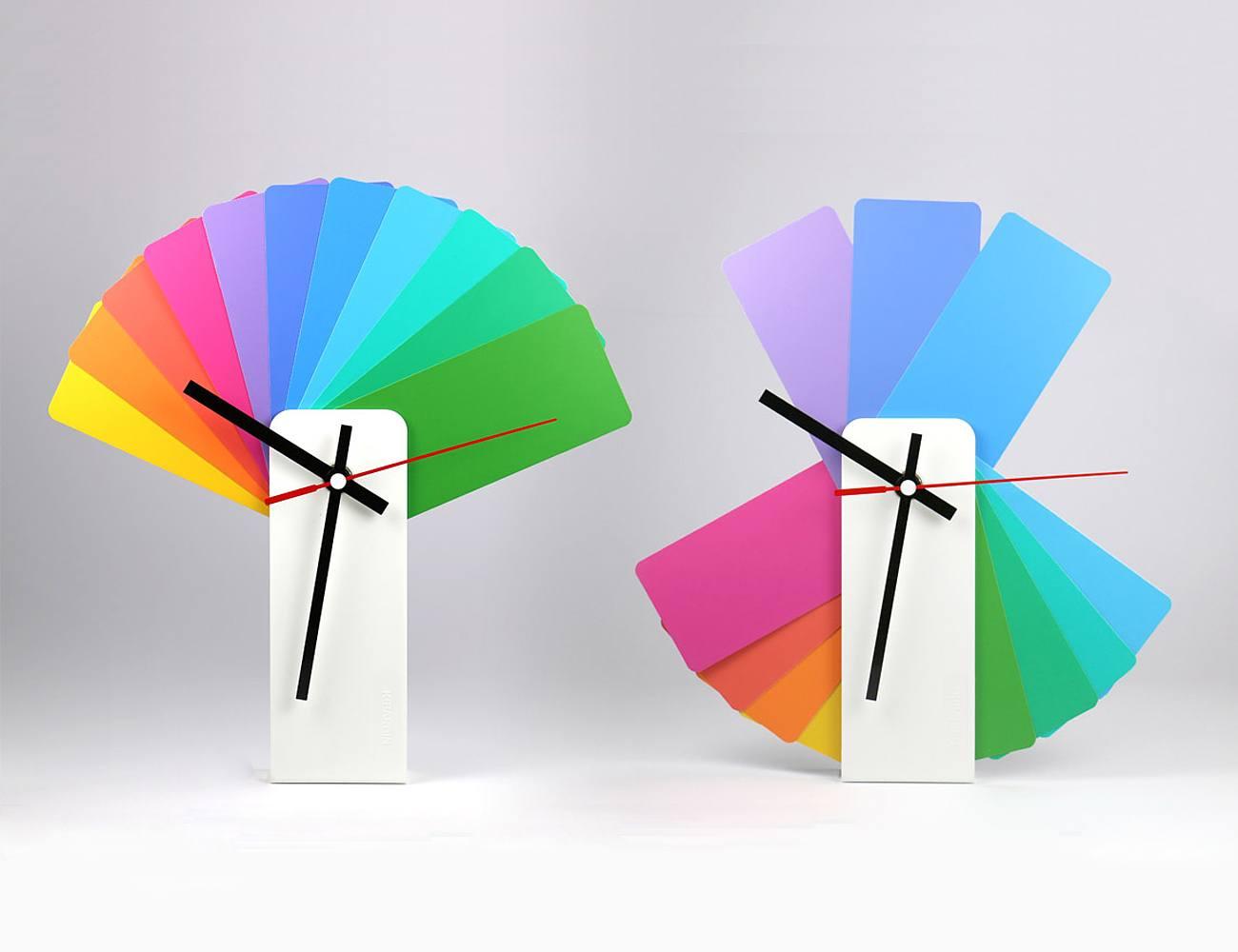 Transformer Analog Clock Multicolor