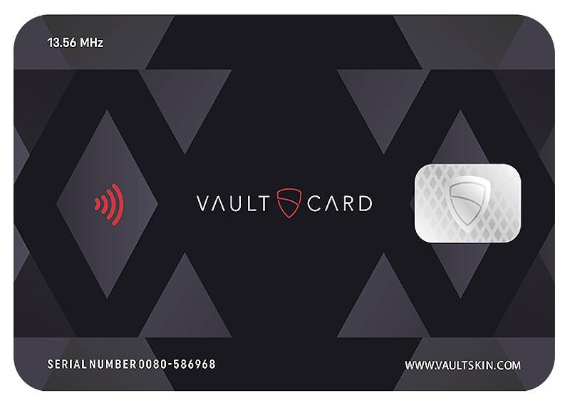 Vaultcard Protects Your Credit Cards from Contactless Fraud