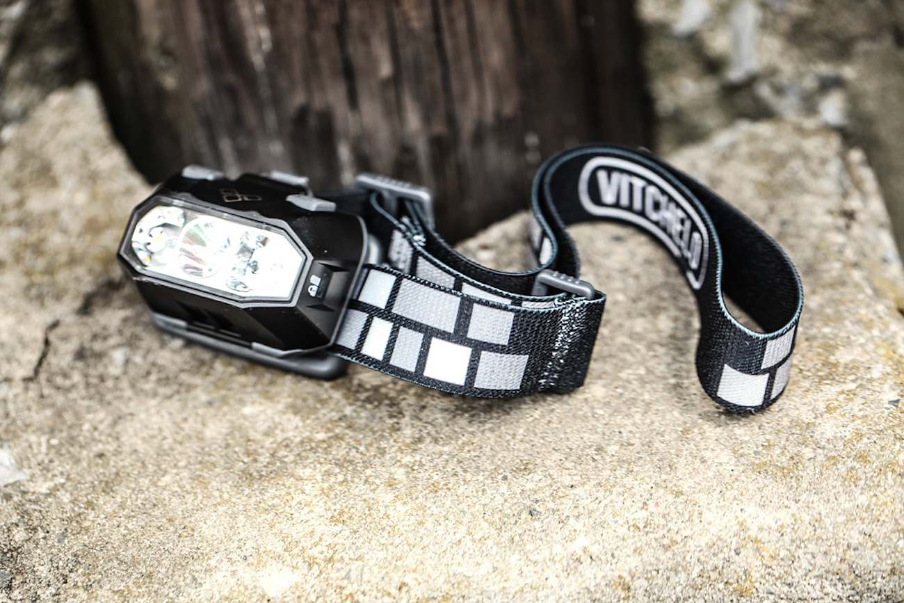Vitchelo – Headlamp W/ Red LED For Hunting, Camping or Running