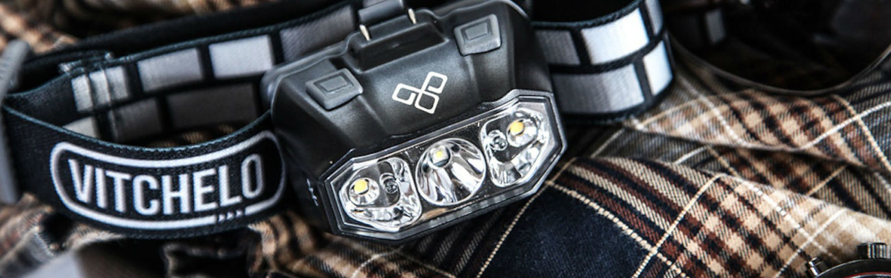 Vitchelo Headlamp Helps Campers See in the Dark