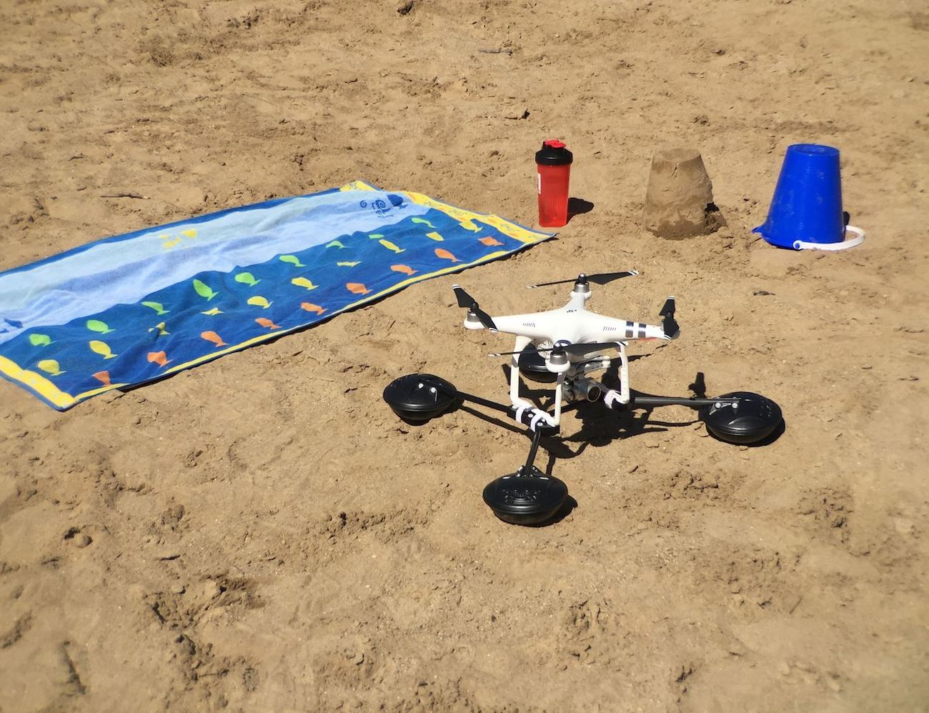 WaterStrider – All-Terrain Drone Converter
