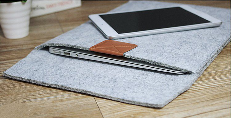 Wool Felt Sleeve For iPad