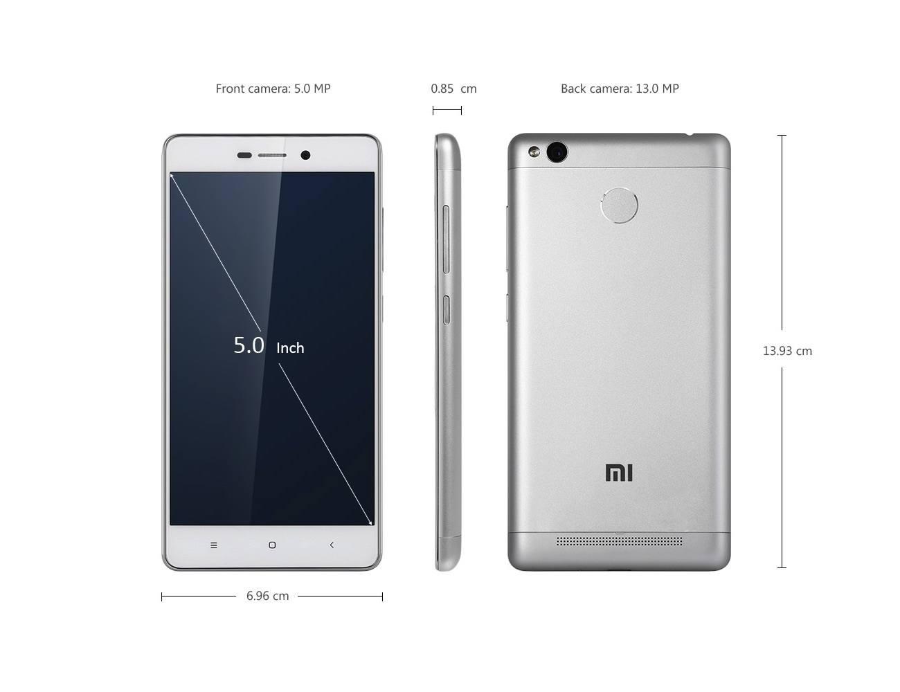 XiaoMi Redmi 3 Pro 4G » Gadget Flow