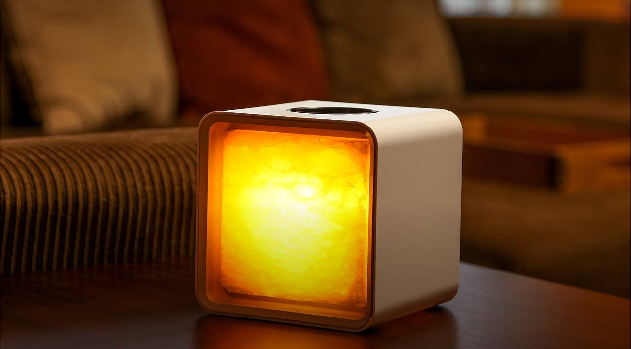Salt Lamps Negative Energy : Zencube Smart Himalayan Salt Lamp Gadget Flow