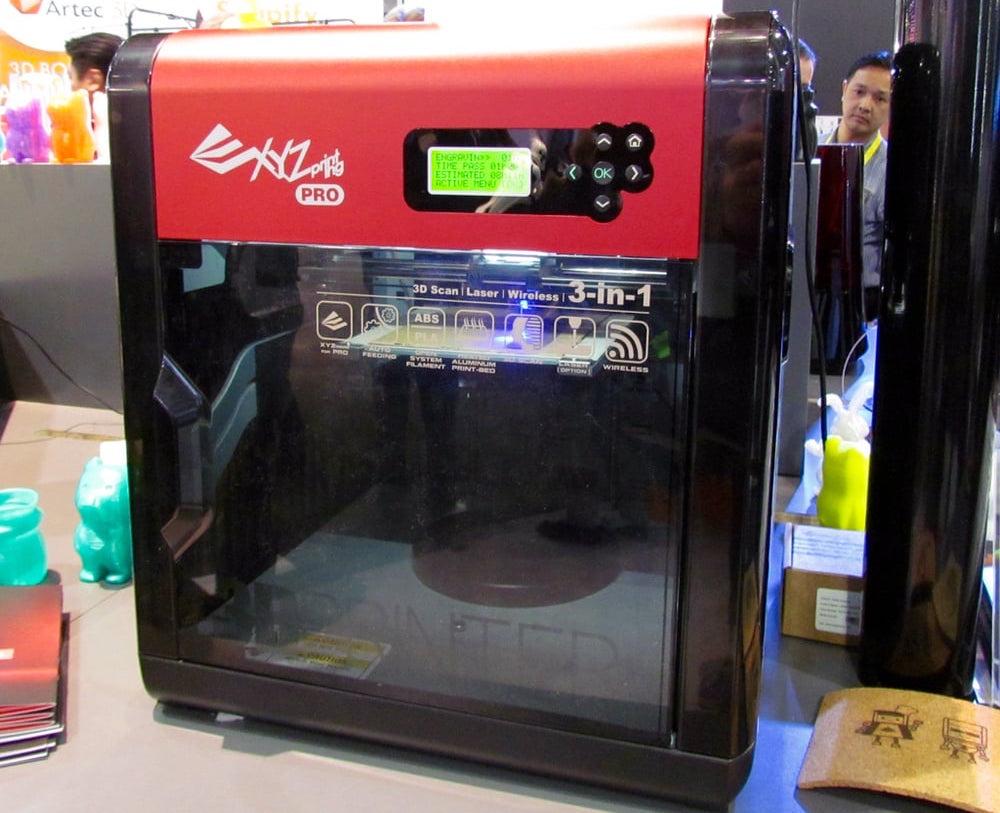 da Vinci Pro 3-in-1 Open Source Filament 3D Printer
