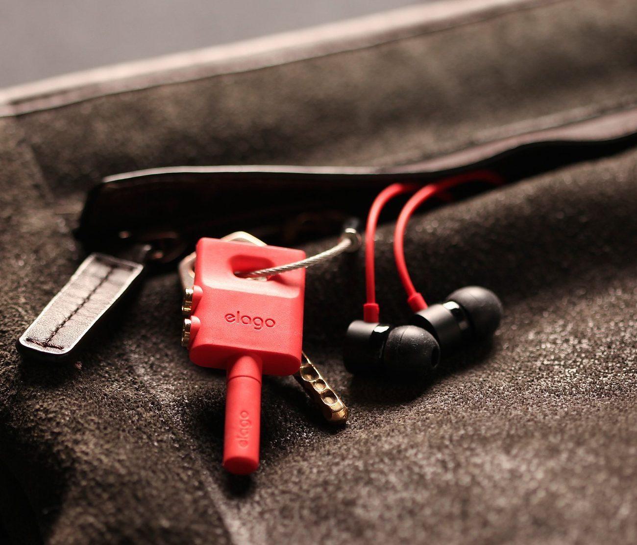 elago Headphone Splitter Keyring