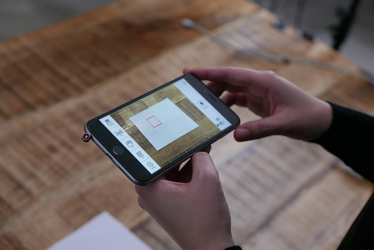 iPin Spatial Ruler – The World's First Spatial Ruler For Your iPhone