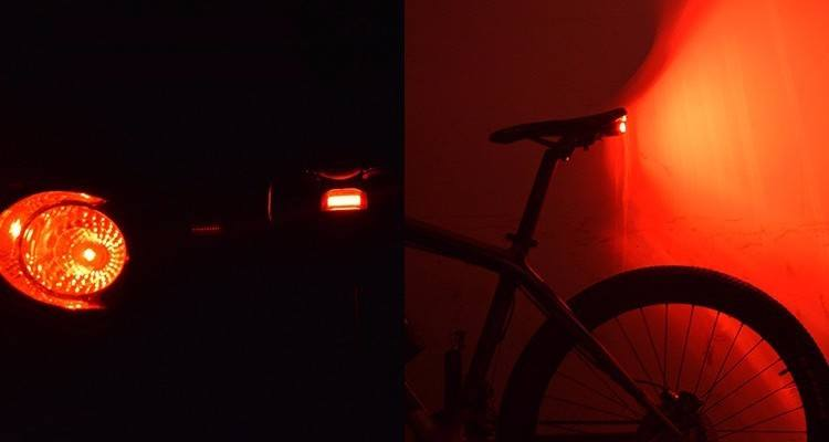 Anti-theft Bicycle Taillights