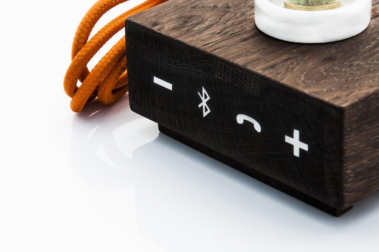 Balldur – The Multi-Function Handmade Wooden Sound Lamp