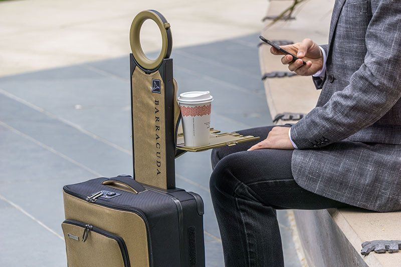 The Barracuda Carry-On Lets You Charge Up on the Go