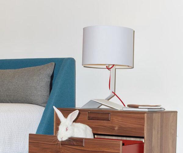 Bender Table Lamp by Blu Dot
