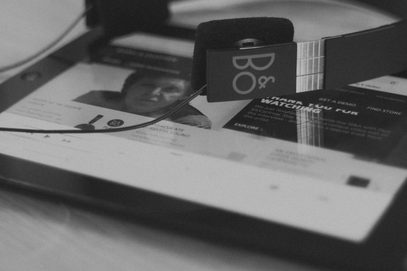 Bang & Olufsen Form 2i Headphones