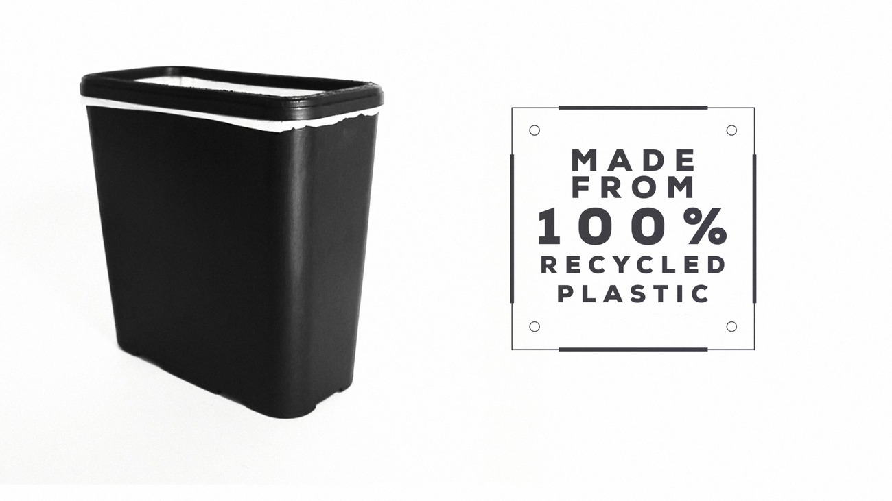 Carbage Can – Topple Proof, Slim Trash Can