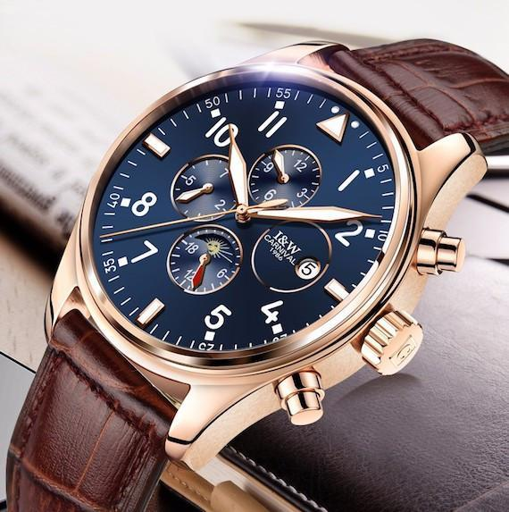 Carnival+Luxury+Automatic+Watches