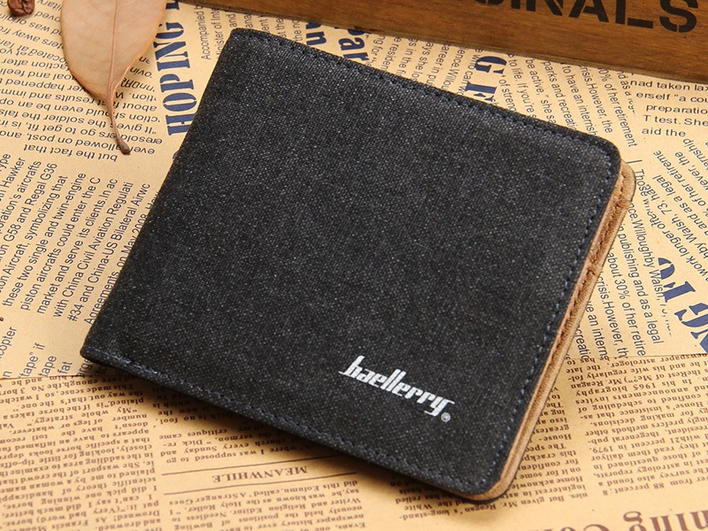 Classic Wallet With Card Holder by Baellerry loading=