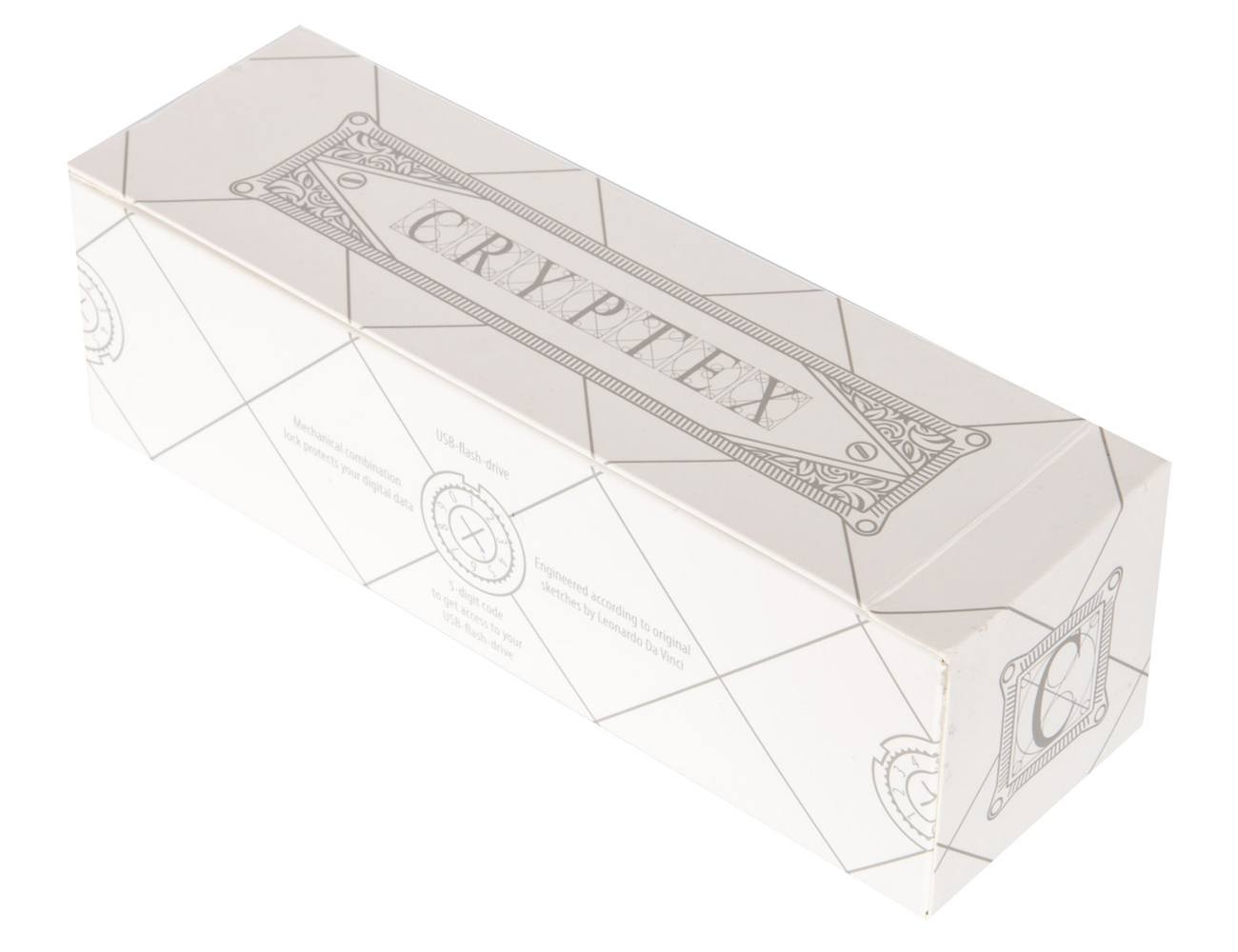 Cryptex Antique Gold 32 GB USB Flash Drive