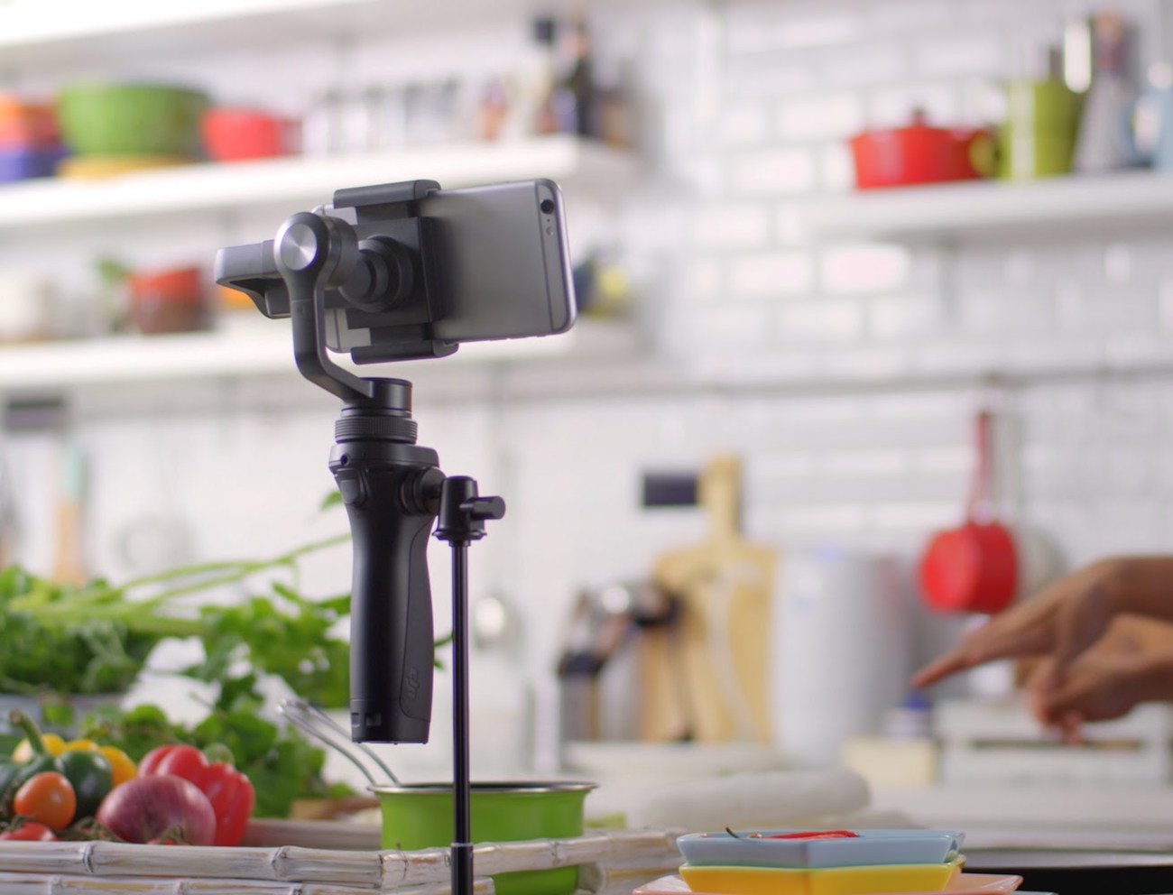 DJI Osmo Mobile Motion Camera Setup