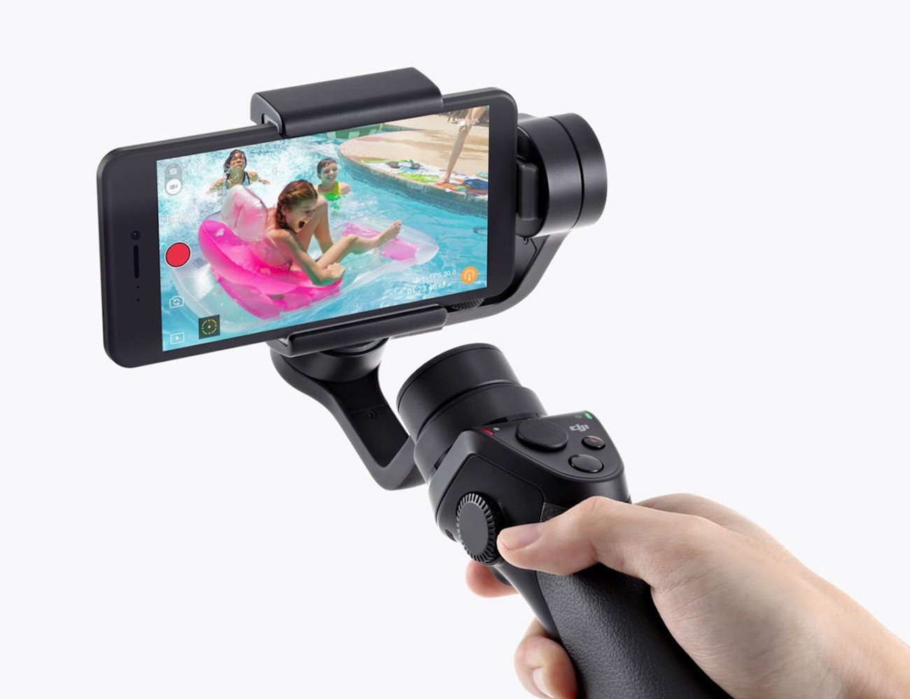 DJI Osmo Mobile Motion Camera Setup